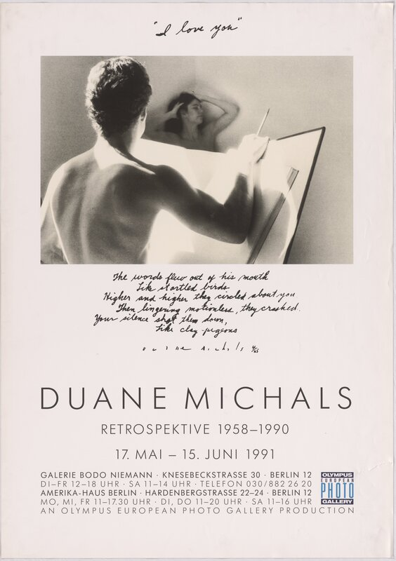 Duane Michals – Retroperspektive 1958 - 1990