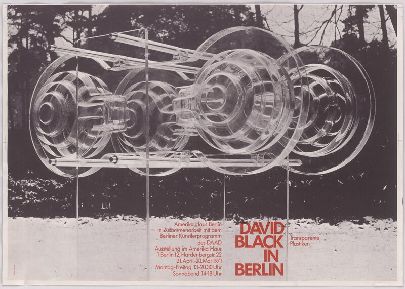 David Black in Berlin – Transparente Plastiken