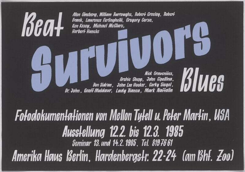 Beat Survivors Blues – Fotodokumentation von Mellon Tytell u. Peter Martin, USA