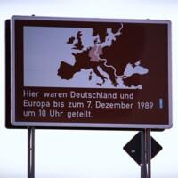 Plakate zur Wiedervereinigung
